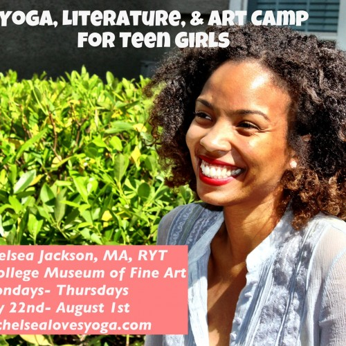 Yoga, Literature, & Art Camp for Teen Girls